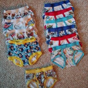 Bundle 4T Underwear